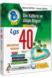Çanta Yayınları - Çanta Yayınları 8. Sınıf LGS Din Kültürü ve Ahlak Bilgisi 40 Deneme