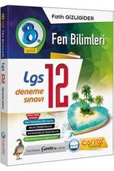 Çanta Yayınları - Çanta Yayınları 8. Sınıf LGS Fen Bilimleri 12 Deneme