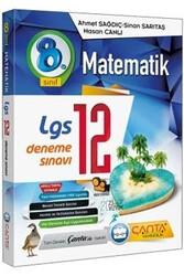 Çanta Yayınları - Çanta Yayınları 8. Sınıf LGS Matematik 12 Deneme