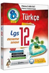 Çanta Yayınları - Çanta Yayınları 8. Sınıf LGS Türkçe 12 Deneme