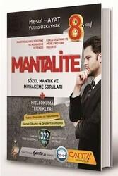 Çanta Yayınları - Çanta Yayınları 8. Sınıf Mantalite Sözel Mantık ve Muhakeme Soruları