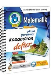 Çanta Yayınları - Çanta Yayınları 8. Sınıf Matematik Kazandıran Defter