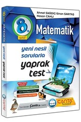 Çanta Yayınları - Çanta Yayınları 8. Sınıf Matematik Yaprak Test