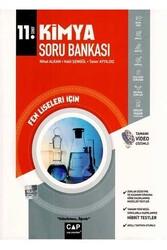 Çap Yayınları - Çap Yayınları 11. Sınıf Fen Lisesi İçin Kimya Soru Bankası