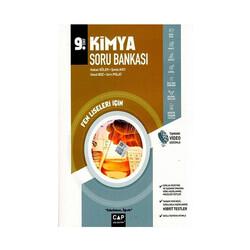 Çap Yayınları - Çap Yayınları 9. Sınıf Fen Lisesi Kimya Soru Bankası