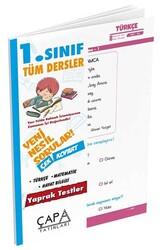 Çapa Yayınları - Çapa Yayınları 1. Sınıf Tüm Dersler Yaprak Test