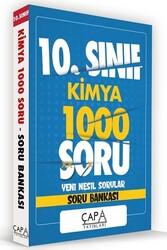 Çapa Yayınları - Çapa Yayınları 10. Sınıf Kimya Soru Bankası