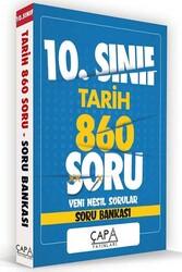 Çapa Yayınları - Çapa Yayınları 10. Sınıf Tarih Soru Bankası