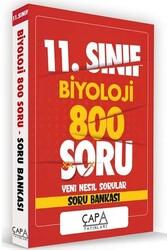 Çapa Yayınları - Çapa Yayınları 11. Sınıf Biyoloji Soru Bankası