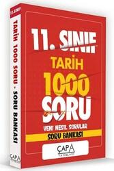 Çapa Yayınları - Çapa Yayınları 11. Sınıf Tarih Soru Bankası