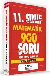 Çapa Yayınları - Çapa Yayınları 11. Sınıf Matematik Soru Bankası