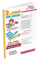 Çapa Yayınları - Çapa Yayınları 2. Sınıf Tüm Dersler Yaprak Test