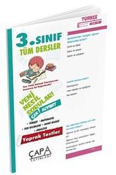 Çapa Yayınları - Çapa Yayınları 3. Sınıf Tüm Dersler Yaprak Test
