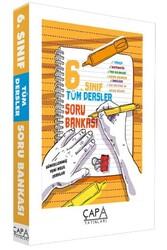 Çapa Yayınları - Çapa Yayınları 6. Sınıf Tüm Dersler Soru Bankası