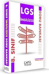 Çapa Yayınları - Çapa Yayınları 8. Sınıf LGS İngilizce Soru Bankası