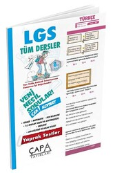 Çapa Yayınları - Çapa Yayınları 8. Sınıf LGS Tüm Dersler Yaprak Test
