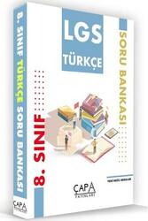Çapa Yayınları - Çapa Yayınları 8. Sınıf LGS Türkçe Soru Bankası