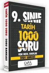 Çapa Yayınları - Çapa Yayınları 9. Sınıf Tarih Soru Bankası