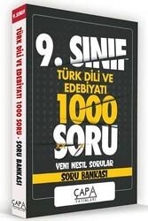 Çapa Yayınları - Çapa Yayınları 9. Sınıf Türk Dili ve Edebiyatı Soru Bankası