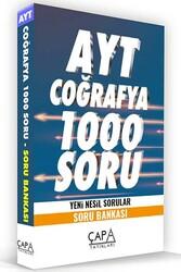 Çapa Yayınları - Çapa Yayınları AYT Coğrafya Soru Bankası