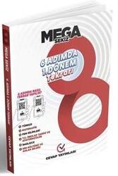 Cevap Yayınları - Cevap Yayınları 8. Sınıf MEGA 6 Adımda 1. Dönem Tekrarı
