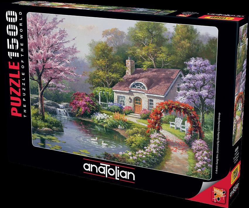 Çiçekli Ev / Spring Cottage In Full Bloom