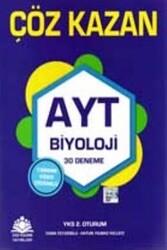 Çöz Kazan Yayınları - Çöz Kazan Yayınları AYT Biyoloji 30 Deneme
