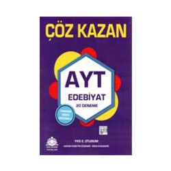Çöz Kazan Yayınları - Çöz Kazan Yayınları AYT Edebiyat 20 Deneme
