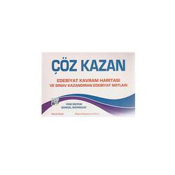 Çöz Kazan Yayınları - Çöz Kazan Yayınları AYT Edebiyat Kavram Haritası ve Sınav Kazandıran Edebiyat Notları