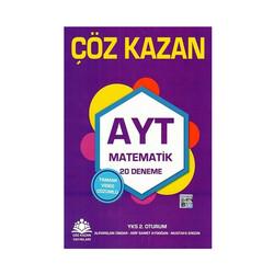 Çöz Kazan Yayınları - Çöz Kazan Yayınları AYT Matematik 20 Deneme