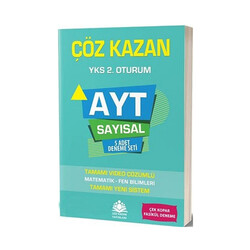 Çöz Kazan Yayınları - Çöz Kazan Yayınları AYT Sayısal 5 Adet Deneme Seti