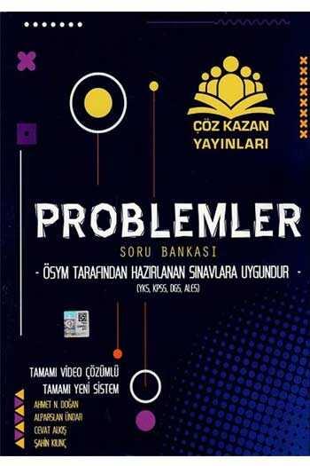 Çöz Kazan Yayınları Problemler Tamamı Video Çözümlü Soru Bankası