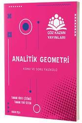 Çöz Kazan Yayınları - Çöz Kazan Yayınları TYT AYT Analitik Geometri Konu ve Soru Fasikülü