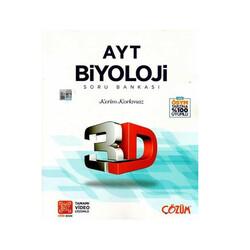 Çözüm Yayınları - Çözüm Yayınları AYT Biyoloji 3D Soru Bankası
