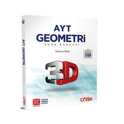 Çözüm Yayınları - Çözüm Yayınları AYT Geometri 3D Soru Bankası