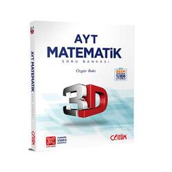 Çözüm Yayınları - Çözüm Yayınları AYT Matematik 3D Soru Bankası