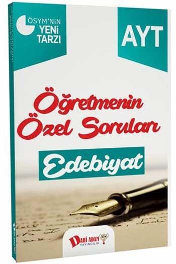 Dahi Adam Yayınları AYT Öğretmenin Özel Soruları Edebiyat Soru Bankası
