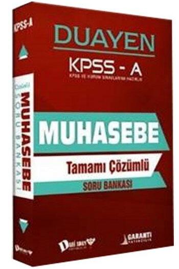 Dahi Adam Yayınları KPSS A Grubu Duayen Muhasebe Tamamı Çözümlü Soru Bankası