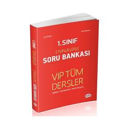 Data Yayınları - Data Yayınları 1. Sınıf VIP Tüm Dersler Etkinliklerle Soru Bankası