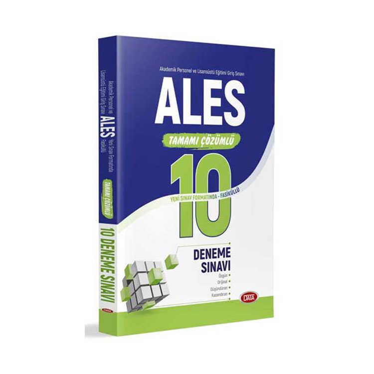 Data Yayınları 2019 ALES Tamamı Çözümlü 10 Deneme Sınavı