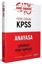 Data Yayınları - Data Yayınları 2020 KPSS Anayasa Çözümlü Soru Bankası Jüri Serisi