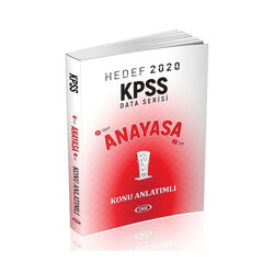 Data Yayınları - Data Yayınları 2020 KPSS Anayasa Konu Anlatımlı