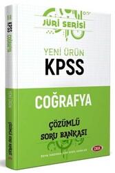 Data Yayınları - Data Yayınları 2020 KPSS Coğrafya Çözümlü Soru Bankası Jüri Serisi