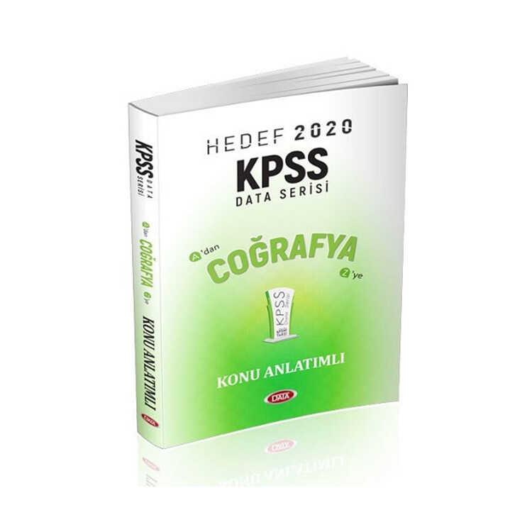 Data Yayınları 2020 KPSS Coğrafya Konu Anlatımlı