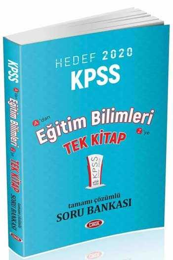 Data Yayınları 2020 KPSS Eğitim Bilimleri Tamamı Çözümlü Soru Bankası