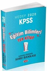 Data Yayınları - Data Yayınları 2020 KPSS Eğitim Bilimleri Tamamı Çözümlü Soru Bankası