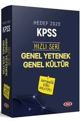 Data Yayınları - Data Yayınları 2020 KPSS Genel Kültür Genel Yetenek Sempatik Konu Anlatımlı Set