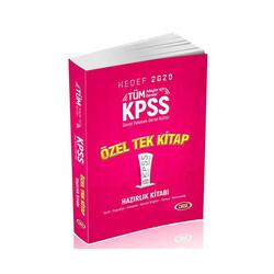 Data Yayınları - Data Yayınları 2020 KPSS Genel Yetenek Genel Kültür Konu Anlatımlı Özel Tek Kitap