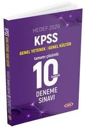 Data Yayınları - Data Yayınları 2020 KPSS Genel Yetenek Genel Kültür Tamamı Çözümlü 10 Deneme Sınavı