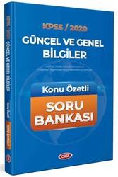 Data Yayınları - Data Yayınları 2020 KPSS Güncel ve Genel Bilgiler Konu Özetli Soru Bankası